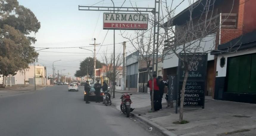 San Luis: un motociclista chocó a un peatón en Avenida Justo Daract