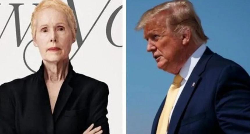 Una periodista denunció que Donald Trump la violó