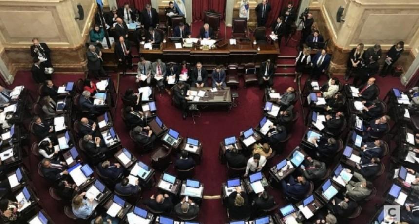 La lista de senadores, provincia por provincia