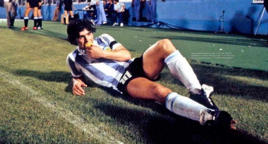 Maradona, inédito: las fotos del 10 que hasta ahora pocos conocían