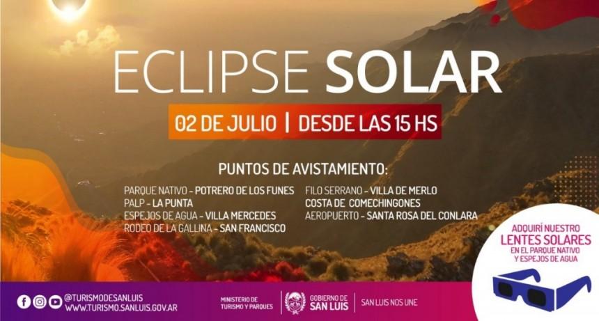El eclipse solar trae mucha ocupación turística a la provincia
