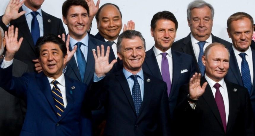 Macri en el G20: reconoció un 2018 difícil y prometió buenas noticias en el rumbo de la economía