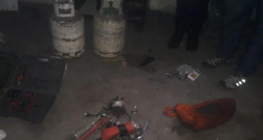 San Francisco del Monte de Oro: realizaron allanamientos, secuestraron un arma de fuego, plantines de marihuana y recuperaron bienes sustraídos