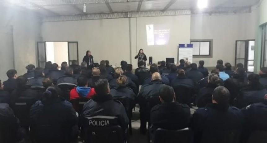 Concarán: policías se capacitaron en violencia y sus diversas formas