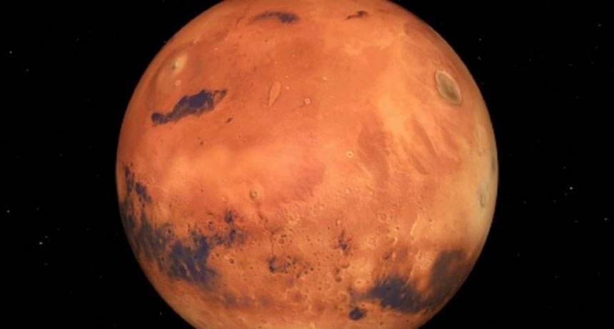 Encontraron indicios de posible vida en Marte