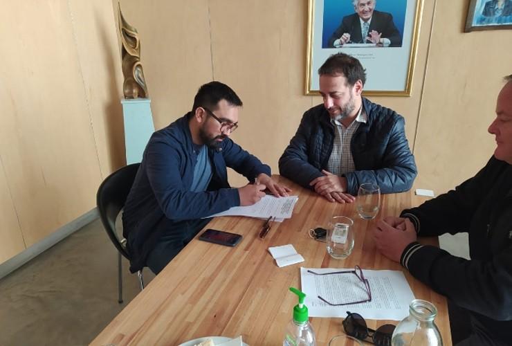 El intendente de Merlo, Juan Álvarez Pinto, se comprometió a mantener el estatus sanitario de la villa turística