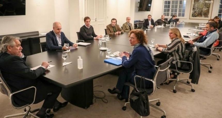 Cuarentena: Reunión de Alberto Fernández y Horacio Rodríguez Larreta sobre los chicos y el futuro escolar