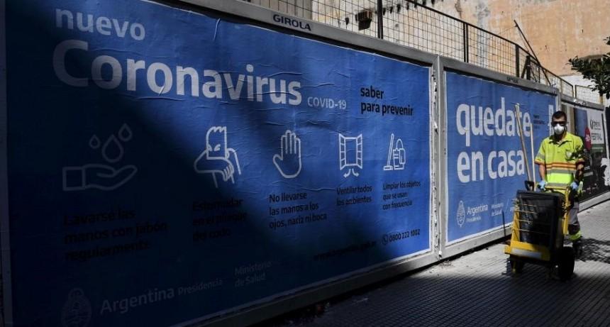 Coronavirus en la Argentina: en las últimas horas murieron otras seis personas