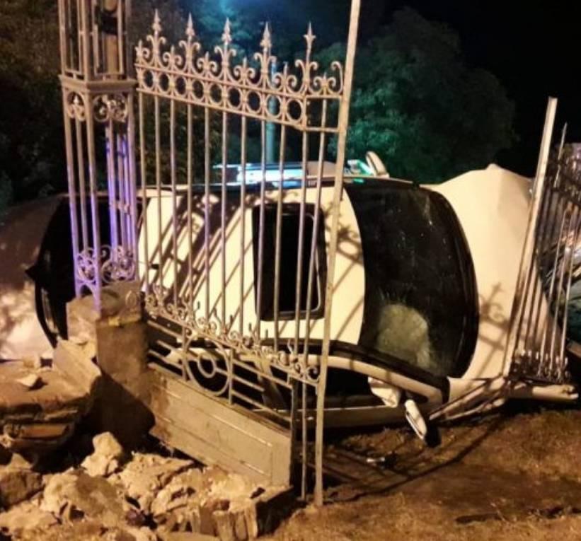 San Luis: Bomberos auxiliaron a tres hombres que sufrieron un accidente