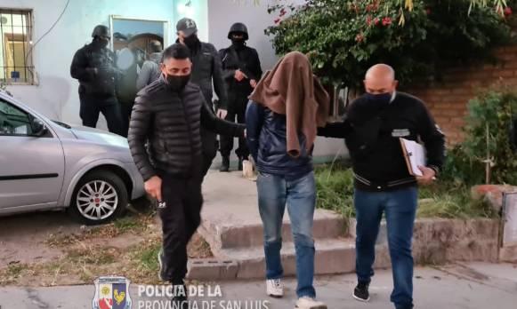 San Luis: personal de Homicidios detuvo a tres personas en sendos allanamientos
