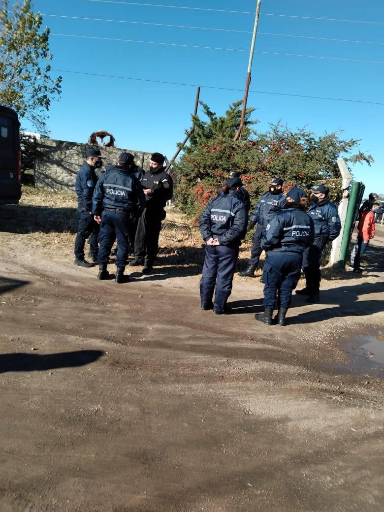 Lucas Chacón, jefe de  Relaciones Policiales dio detalles sobre   la búsqueda de Guadalupe Lucero