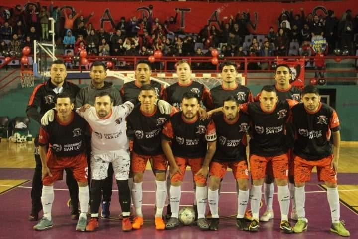 Spartanos ascendió a la Primera División del Futsal de San Luis