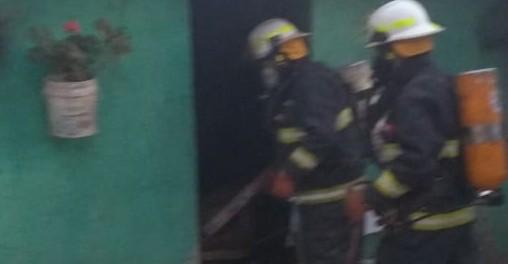 Juana Koslay: bomberos sofocaron el incendio de una vivienda