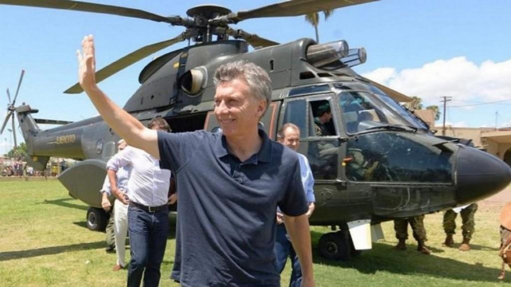 Un senador denunció que Macri usó un helicóptero oficial para ir a cortarse el pelo
