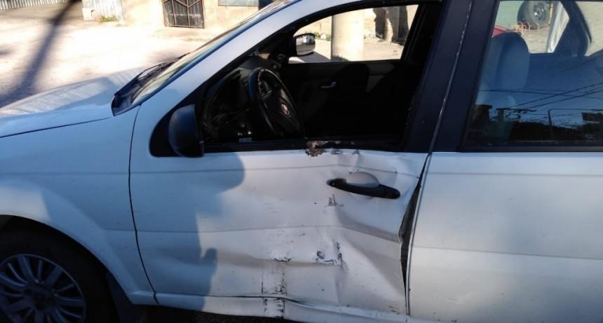 San Luis: un motociclista y un auto chocaron en Aristóbulo del Valle
