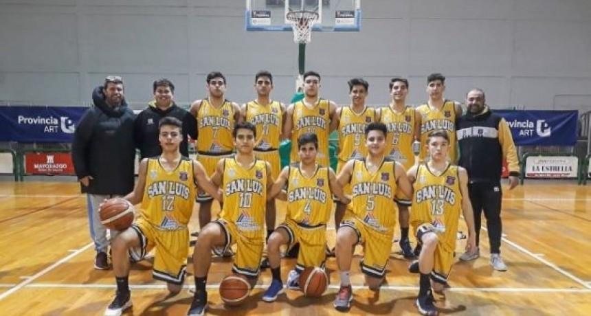 La delegación puntana de básquet obtuvo el 4° puesto en el Regional U19 de Mendoza