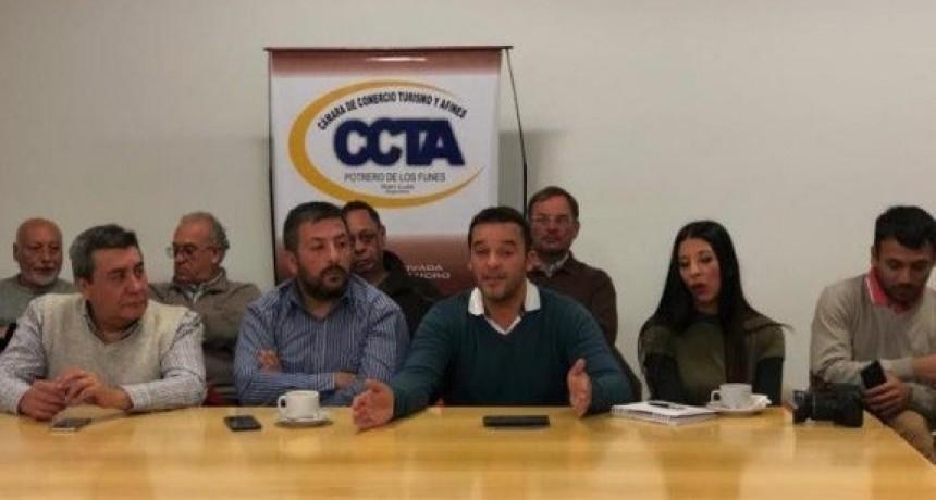 Para potenciar el turismo en Potrero de los Funes, Tamayo se reunió con la CCTA