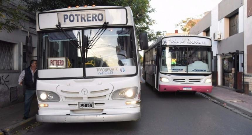 Interurbano: el próximo miércoles habrá paro de colectivos durante todo el día