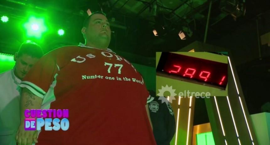 Murió Maxi Oliva, el primer ganador de Cuestión de peso