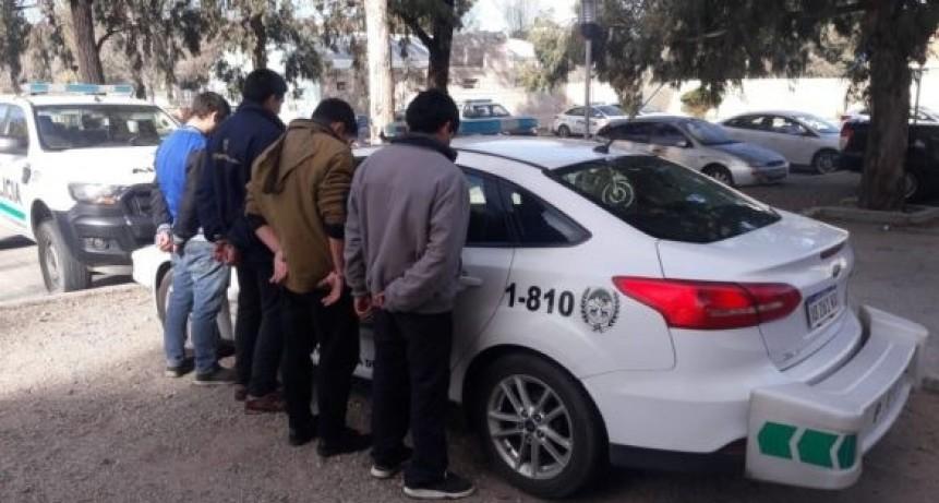 San Luis: cuatro hombres fueron enviados a la cárcel por el delito de robo