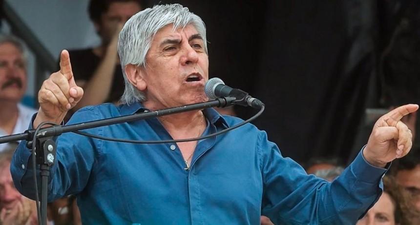 Moyano anunció una marcha en contra del acuerdo Mercosur-UE