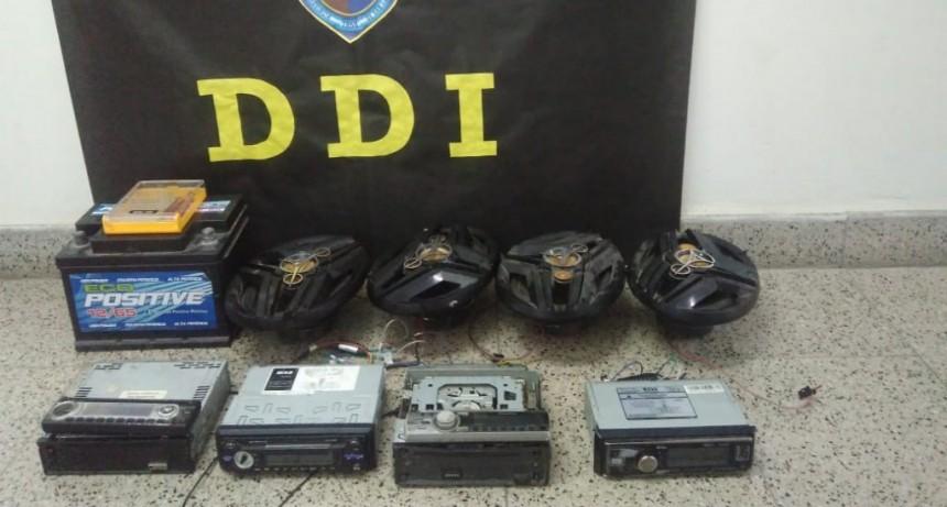 Naschel: recuperaron elementos sustraídos y secuestraron un auto que lo utilizaba para robar
