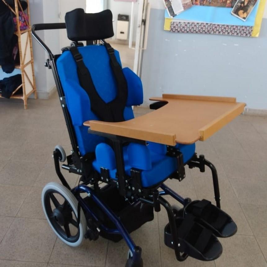 Niños con discapacidad tendrán sillas especiales para mejorar su calidad de vida