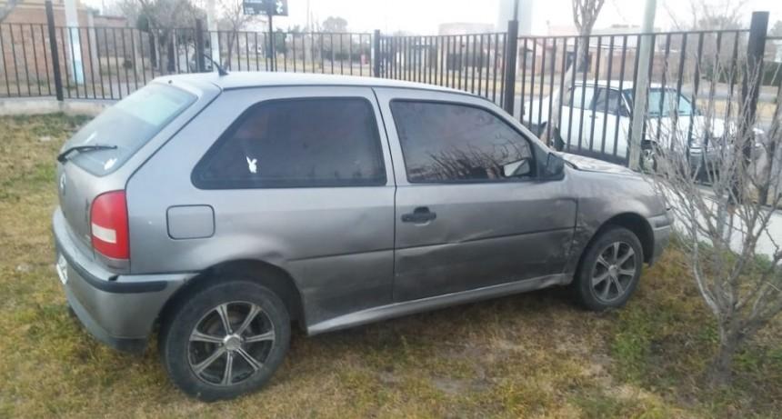 San Luis: detuvieron a cinco personas que robaron elementos de un auto