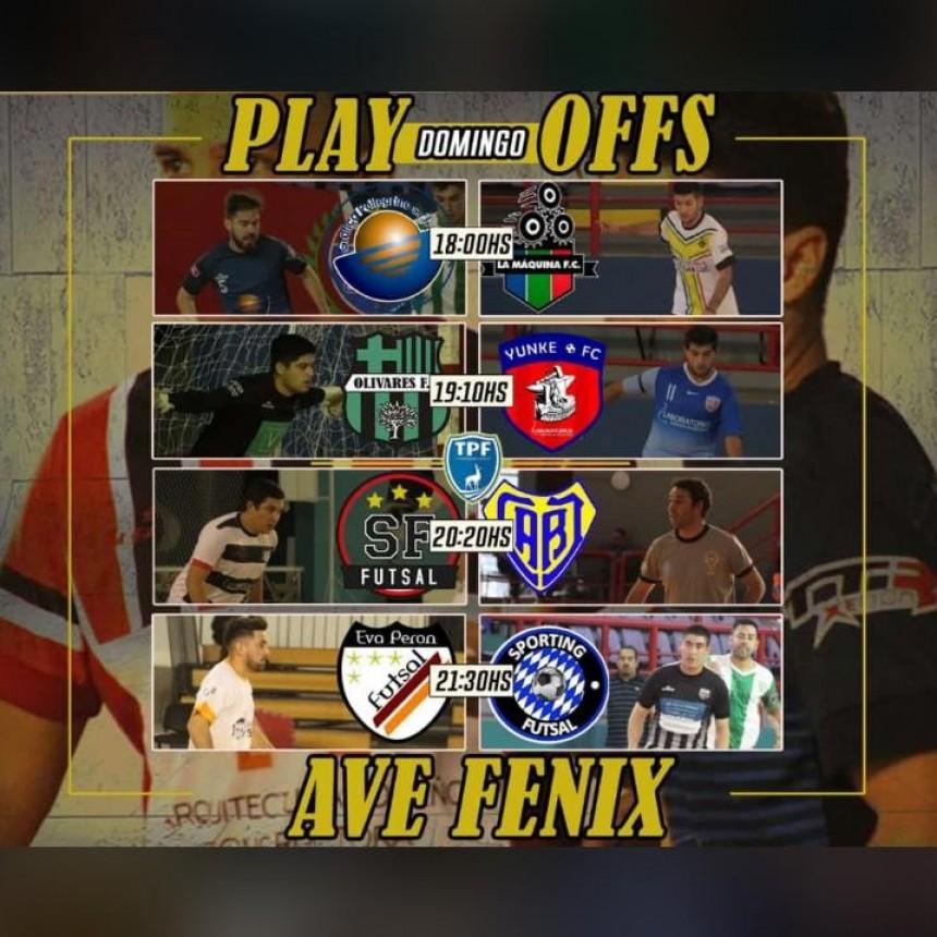 Mañana comienzan los PlayOff del Torneo Apertura de Futsal