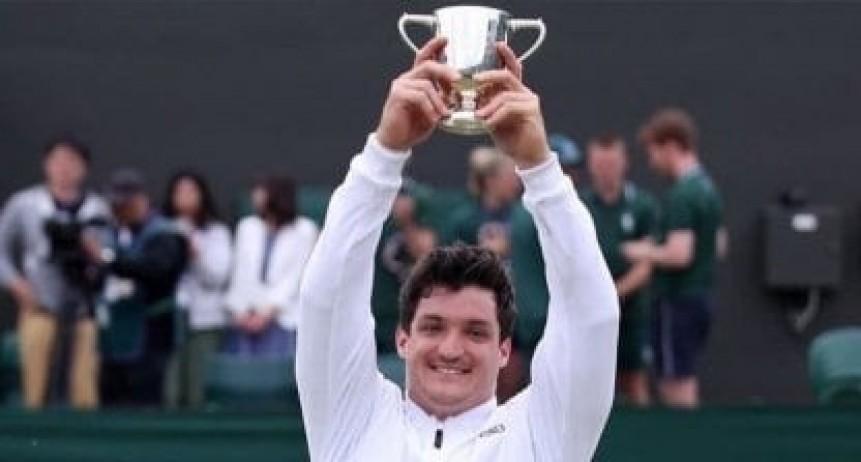 Gustavo Fernandez hizo historia en Wimbledon