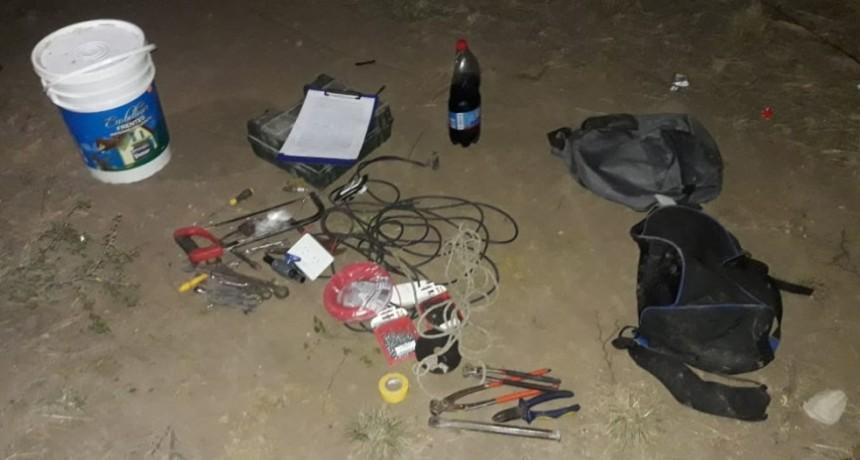 San Luis: policías recuperaron elementos sustraídos