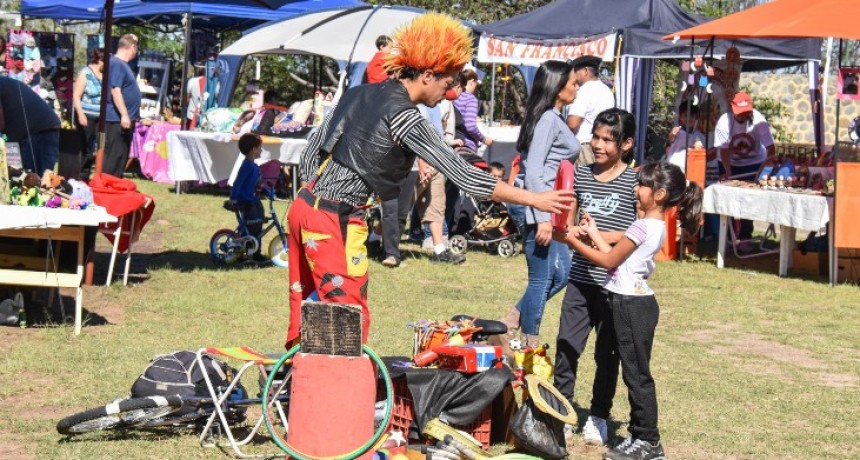 La Feria suma un nuevo atractivo: la kermesse para los más chicos