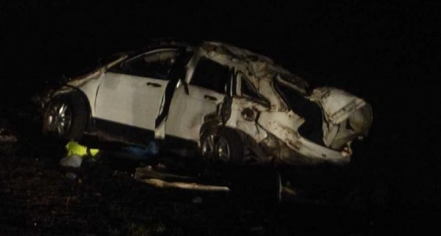 Grave accidente de El Pepo: volcó con su camioneta y murieron dos de sus acompañantes