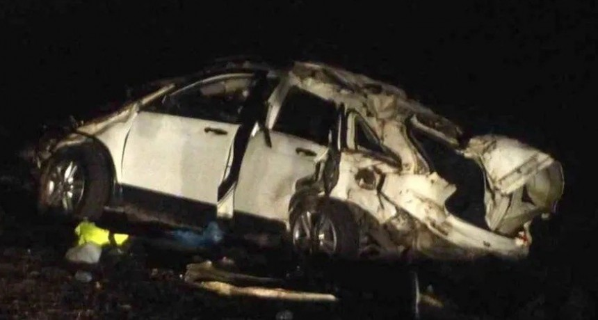 Se confirmó que El Pepo conducía el auto al momento del trágico vuelco