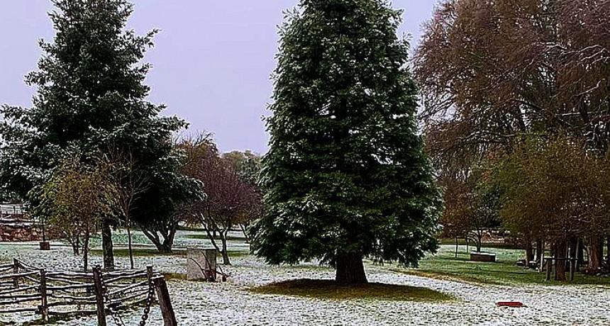 Pronostican lloviznas para el centro puntano y agua nieve en zonas serranas