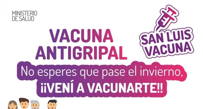 Vacuna antigripal: en tres meses ya se vacunó el 60% de la población