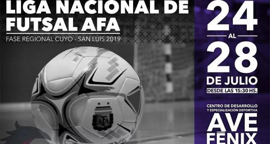 Este jueves comienza en Torneo Regional de Futsal en San Luis