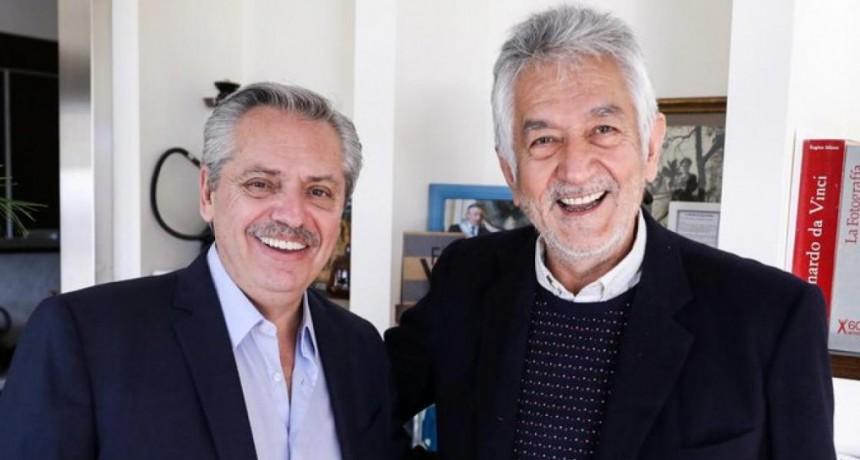 Alberto Rodríguez Saá sumó su respaldo a Alberto Fernández