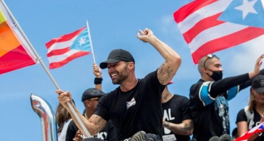 Ricky Martín, Residente y Bad Bunny celebraron la salida del gobernador puertorriqueño