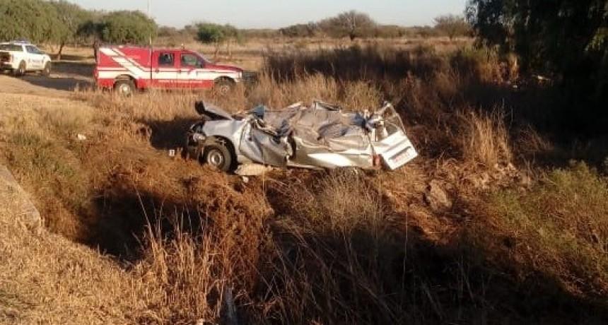 Accidente fatal:Una pareja falleció la en Autopista Serranías Puntanas