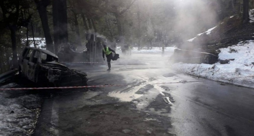 Murió el bombero voluntario y son dos los fallecidos por el accidente de los Siete Lagos