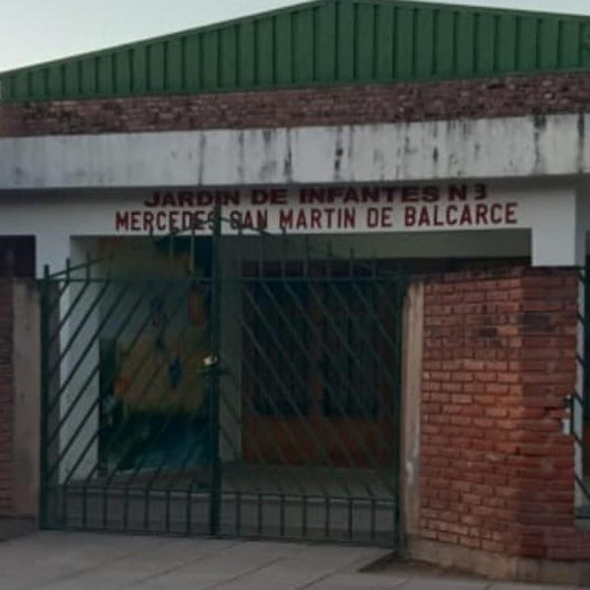 Santa Rosa del Conlara: menores dañaron y robaron en un jardín de infantes