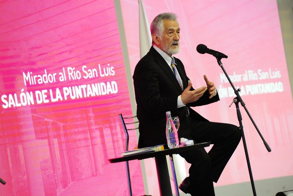 El gobernador Alberto Rodríguez Saá inauguró el Mirador al Río San Luis