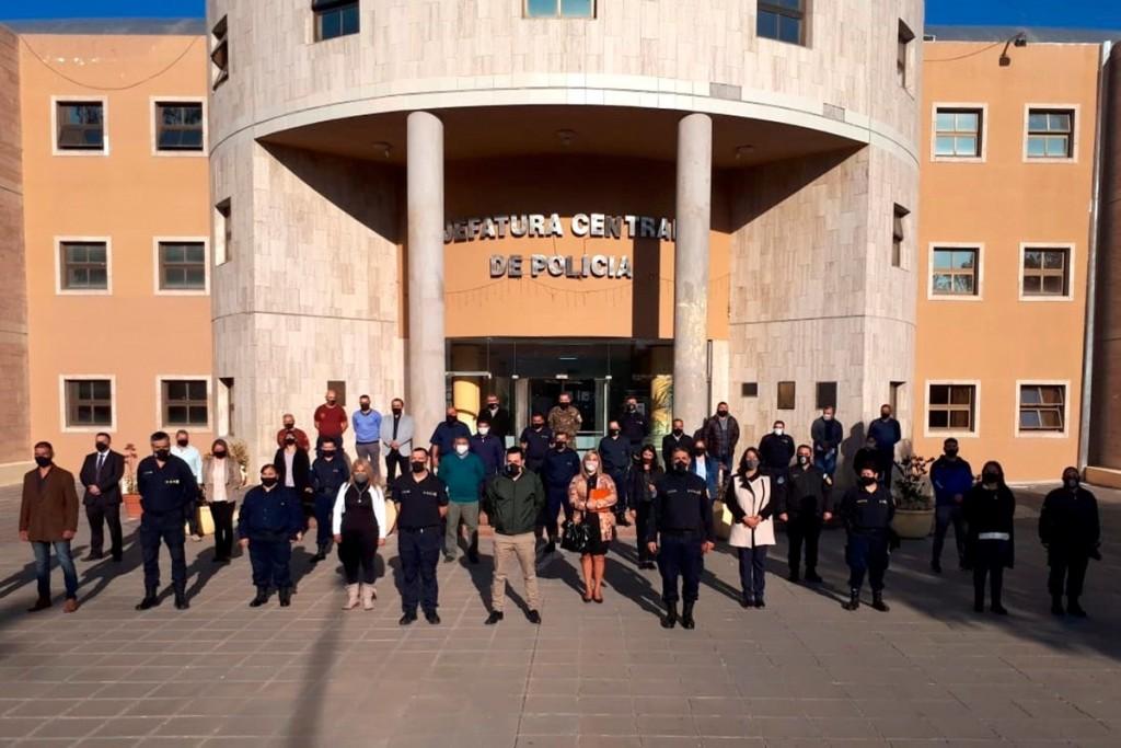 Ponen en funciones a la plana mayor de la Policía provincial