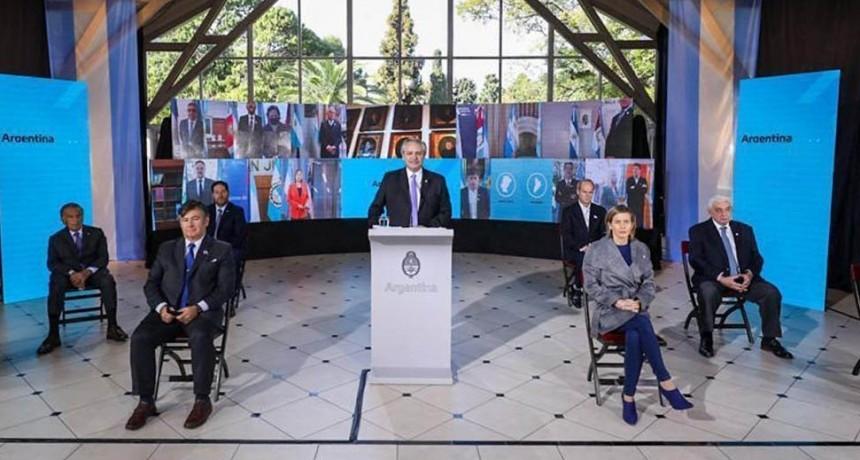 San Luis participó del acto nacional en homenaje al Día de la Independencia
