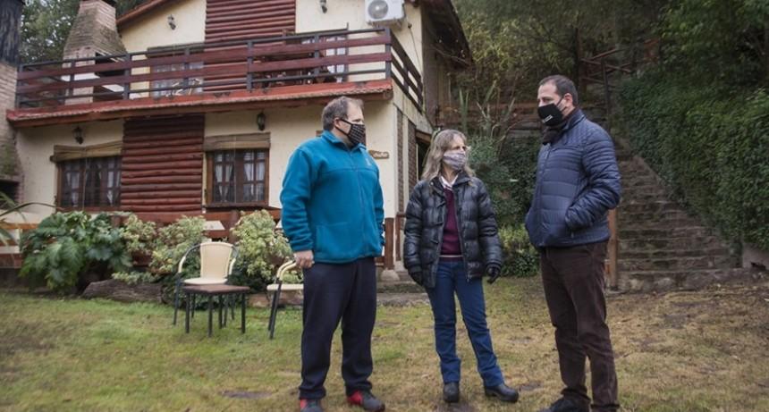 Turismo realizó auditorías programadas en alojamientos de Potrero de los Funes