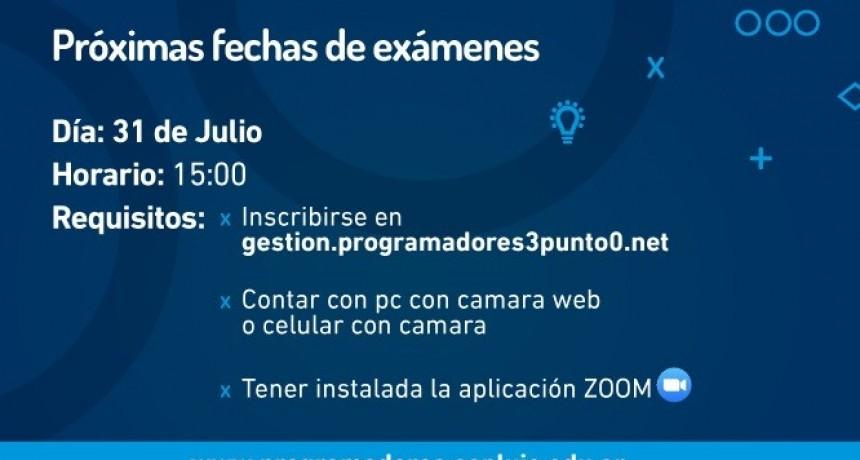 El viernes 31 de julio rinden examen los Meta Programadores