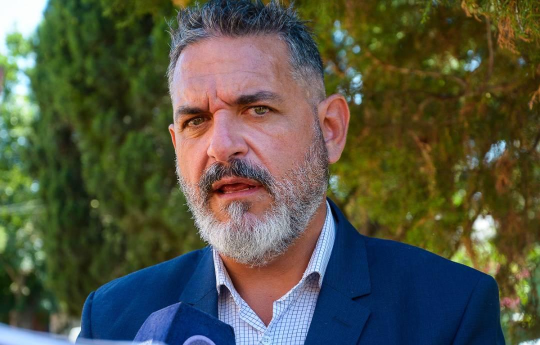Ernesto Alí habló sobre las obras que se realizarán en La Toma