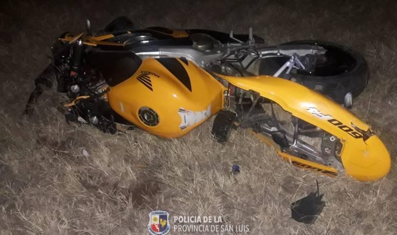 Villa Mercedes: un motociclista perdió la vida en un siniestro vial