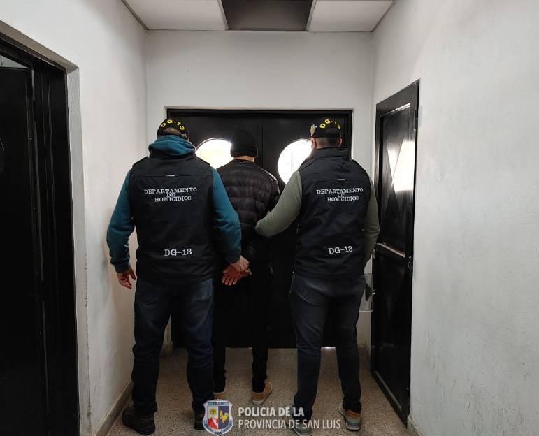 Tilisarao: detuvieron a un hombre por el delito de homicidio